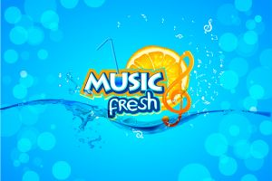 logo music fresh